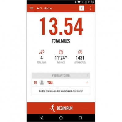 application nike+ running avis