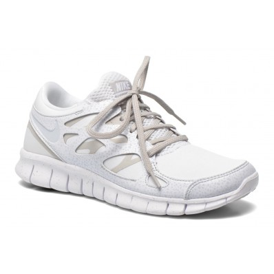 nike blanche foot