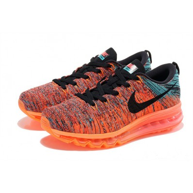 nike flyknit grise rouge