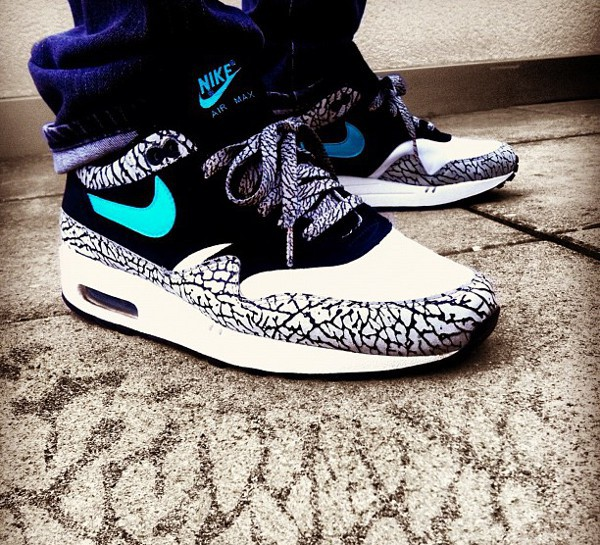 best loved 6fa42 bbb7e nike air max 1 atmos elephant pas cher